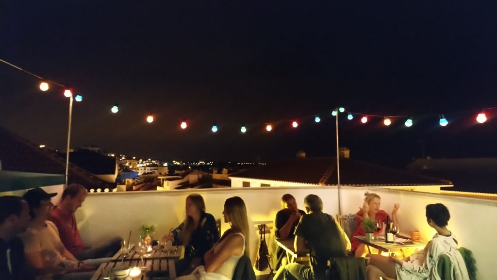 the view from Predio Rooftop Bar in Ericeira