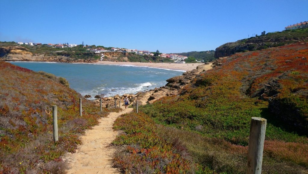 one of the beautiful coastal walks in Ericeira