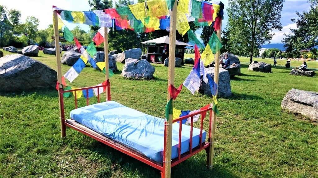 Free bed at Inmusic festival in Croatia