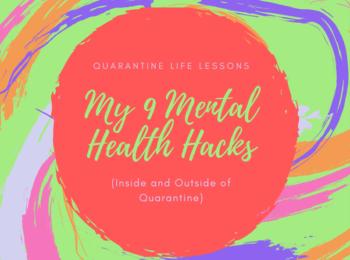 mental health hacks banner image