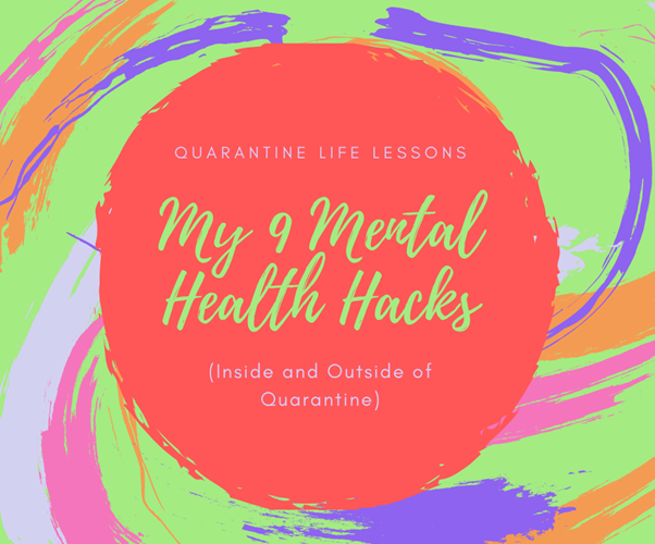 mental health hacks banner image